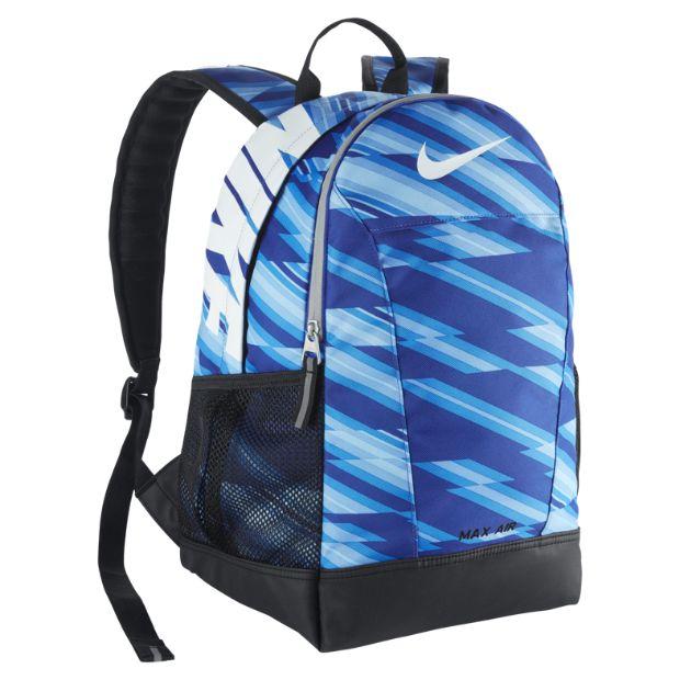 nike air max backpack blue