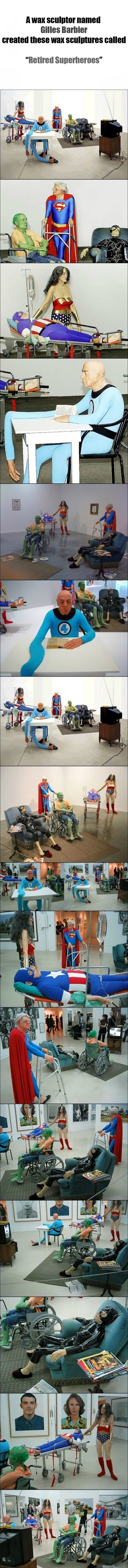 Retired Superheroes