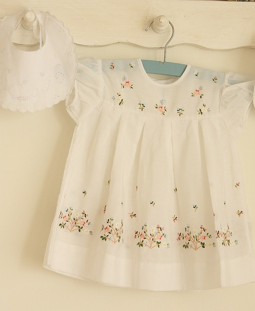 Delightful vintage baby dress
