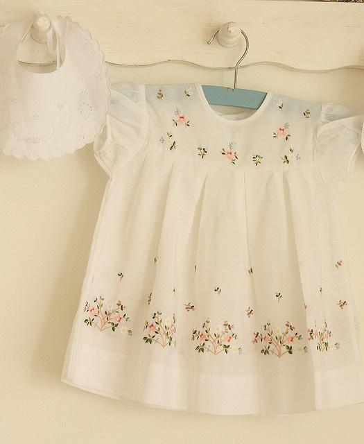 Delightful vintage baby dress