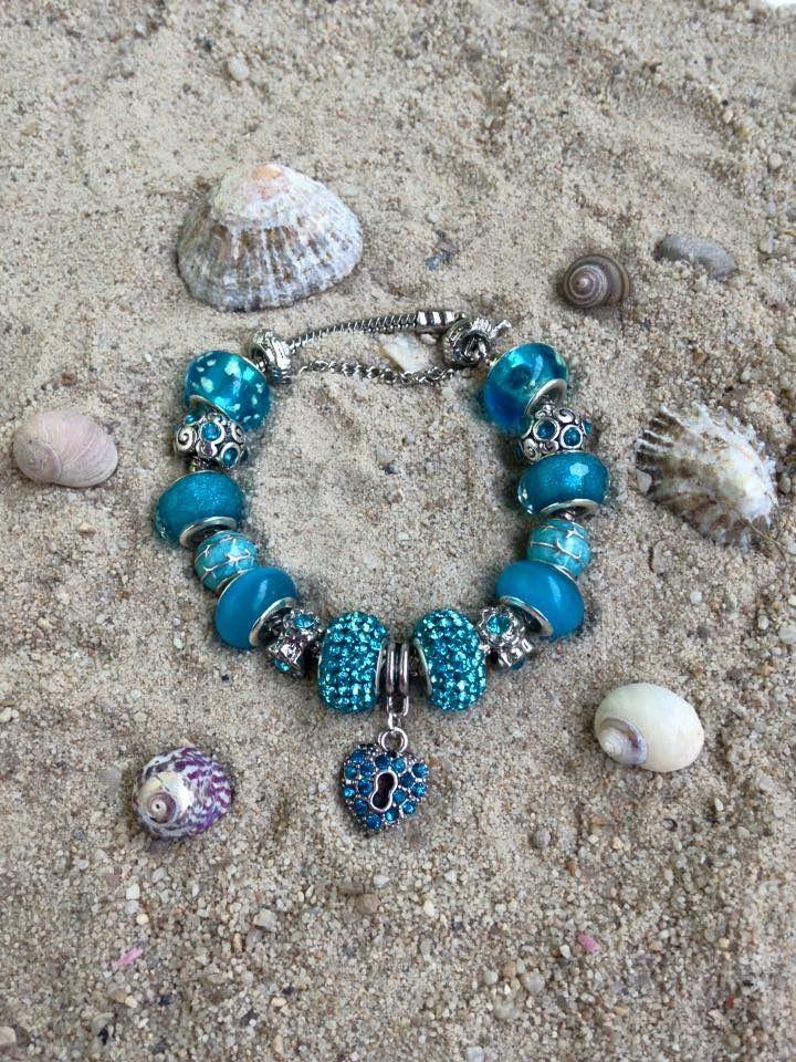 bracelet pandora bleu