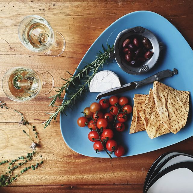 Cheese and olives, on Royal Doulton's HemingwayDesign collection