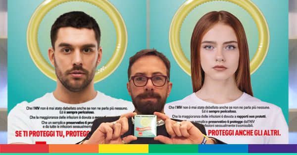 1 dicembre: ecco la campagna contro HIV dell'europarlamentare Viotti
