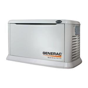 Generac 20 000 Watt Automatic Standby Generator 6250 At