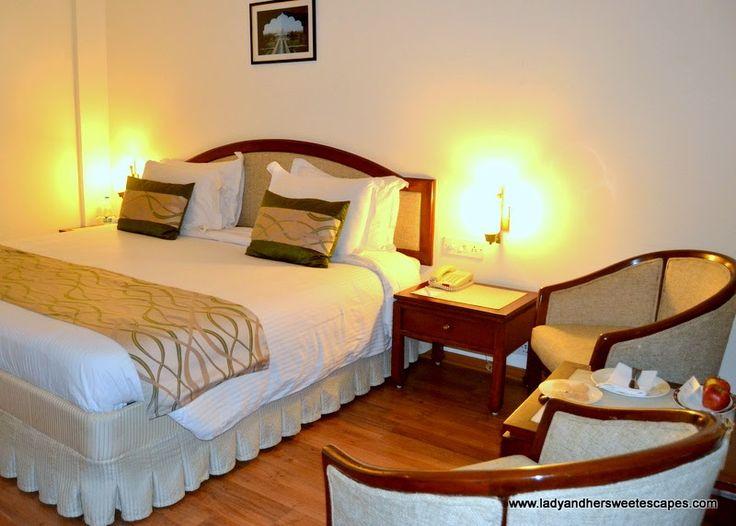our deluxe room in Clark Shiraz