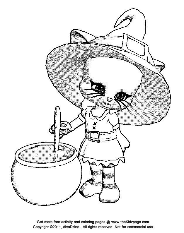 Detailed Halloween Coloring Pages Fun For Halloween Coloring
