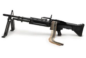 A Close friend I dearly miss, The M60 Machine Gun. I qualified Expert with it at Camp Lejeune in 1987. Great times.