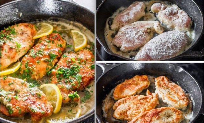 Petto di Pollo al Limone e Capperi – È Donna
