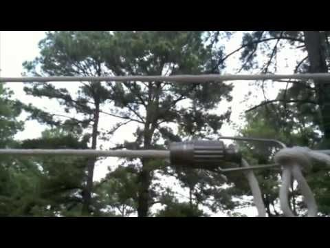 Setting Up a Pulley Clothesline