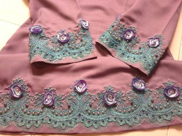 suraya safie's: hijau zamrud vs shocking pink versi koleksi baju kurung tahun depan