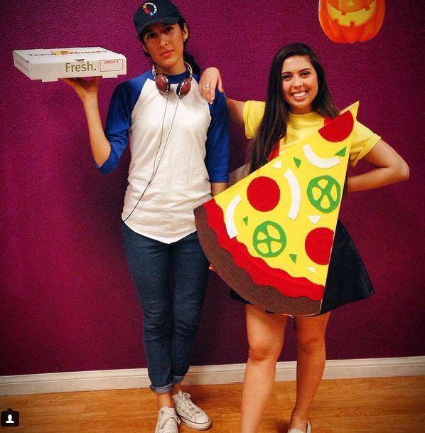 pizza disfraz
