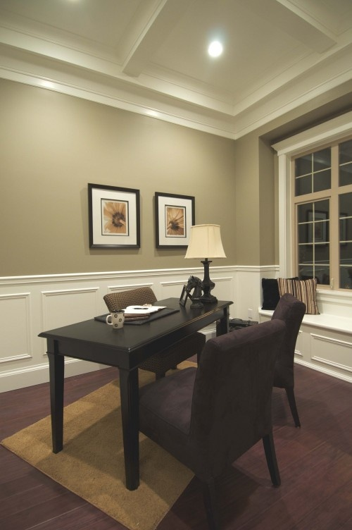 Wall Colour And White Wainscoting And Ceiling Check Out