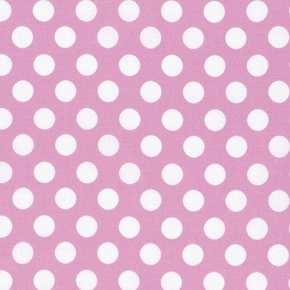 """Tanya Whelan Sadie's Dance Pink Quarter Dots - listing for 1 Yard 36""""44""""  FM by FabricCloseouts on Etsy"""