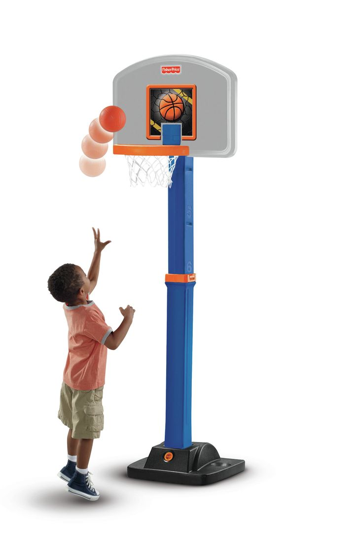 Grow-to-Pro Basketball Hoop