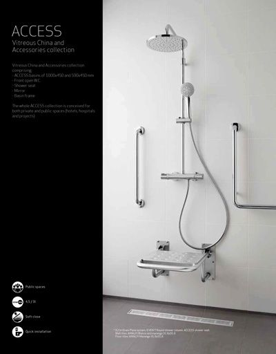 17 best ideas about roca bathroom on pinterest showers for Roca bathroom fittings