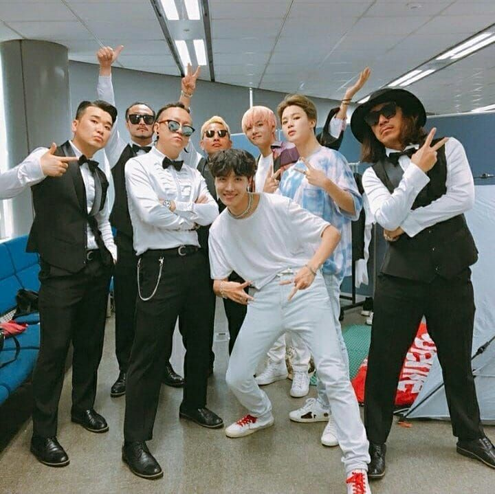 180906 Jaeyong Chung Of Wawa Instagram Update He Is Among Bts Back Up Dancers The Success Of A Person With A Good Personality Is A Bangtan Bangtan Boys Bts