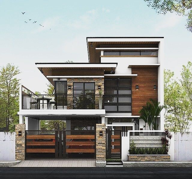 Pin By Hanadi Hall On Modern House Design Ideas Philippines House Design Modern House Philippines House Outer Design