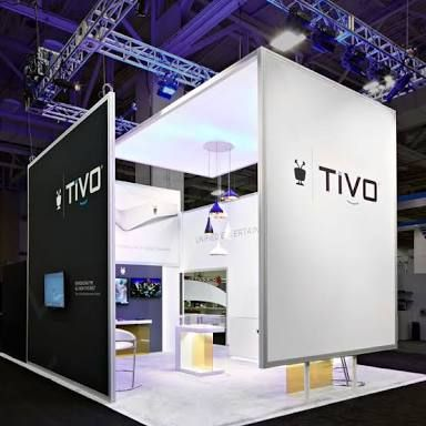 Minimalist Trade Show Booth Design Stand D