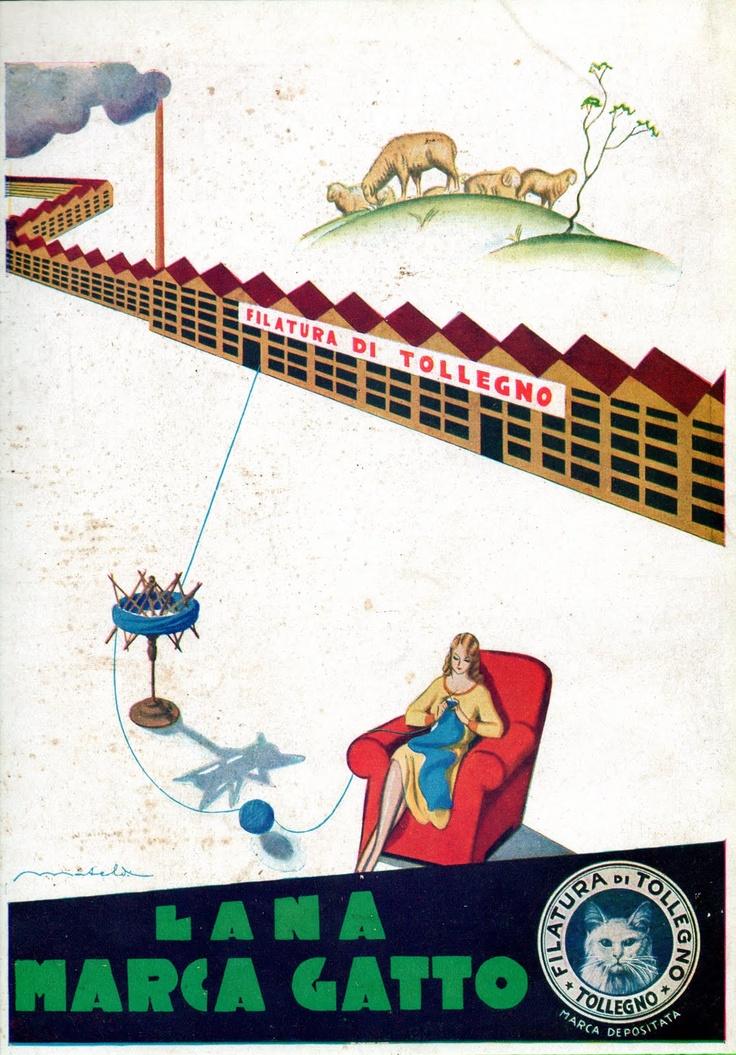 FILATURA E TESSITURA DI TOLLEGNO   Nel 1900, in aprile, fu stilato presso la sede della Banca Gaudenzio Sella e C. l'atto di costituzione della società anonima denominata Filatura di Tollegno; nel 1908 nacque il marchio Lana Gatto e gli operai della Filatura di Tollegno erano già saliti a più di 600, quasi decuplicando la loro consistenza dall'anno di fondazione; nel 1910 la Società creò a Torino un nuovo stabilimento di filatura