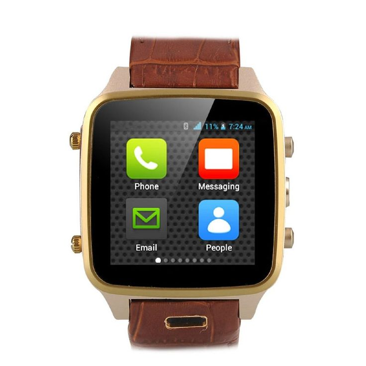 Hi-PEEL HI8 Mobile Smart Phone Watch Bluetooth Android Wrist Iphone Htc Lg