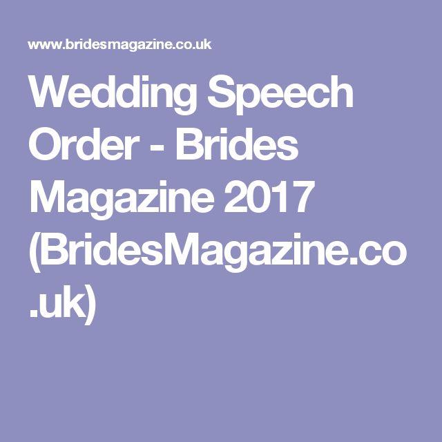 1000+ Ideas About Wedding Speeches On Pinterest