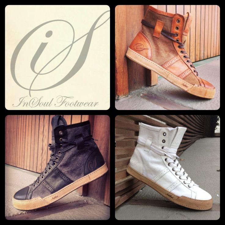 DRESS SNEAKER High: InSoul Footwear Black - Brown - White  www.insoulfootwear.com