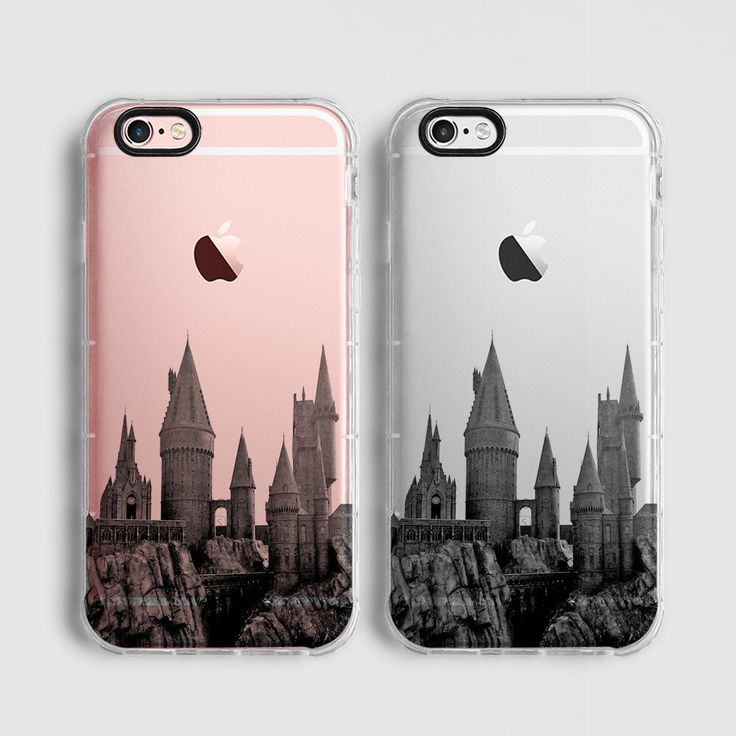 Hogwarts Skyline iPhone 6s clear case, iPhone 6 protective case, iPhone 6 plus case, iPhone 6s Plus case, iPhone SE case, black grey C083 by Agathecase on Etsy https://www.etsy.com/listing/289058597/hogwarts-skyline-iphone-6s-clear-case