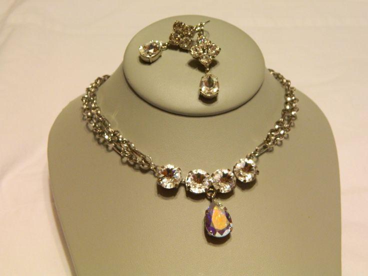 tear drop necklace.