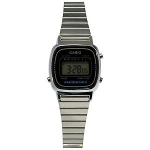 Casio LA670WA-1W Women's Silver Multi-Function Casual Digital Watch  $18.95  $24.99  (498 Available) End Date: Jul 272016 07:59 AM GMT-07:00