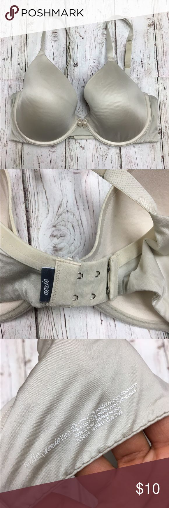 Aerie Bra 32C Has been worn about 3 times. This bra is in a great condition! You will receive Bra washed and ready to wear. Most Aerie bras is $30+ a bra in this style. This is an awesome deal to get a beautiful bra! aerie Intimates & Sleepwear Bras