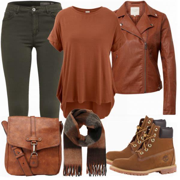 Rieker Damen Stiefel Damen Outfit Komplettes Herbst Outfit