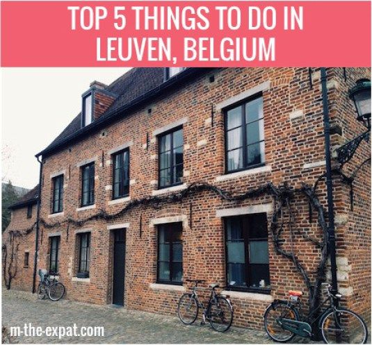 Top 5 Things To Do In Leuven, Belgium - m.the.expat.com