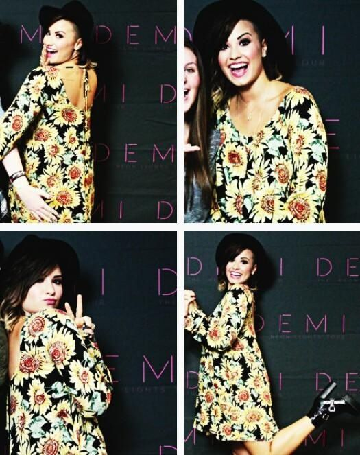 demi world tour meet and greet pictures justin