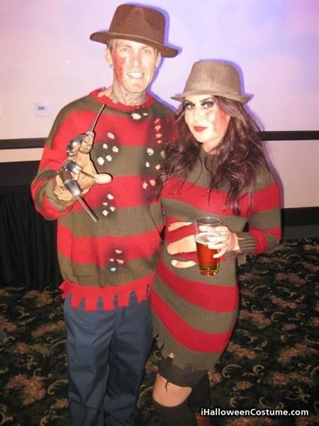 Хеллоуин костюм фредди крюгер
