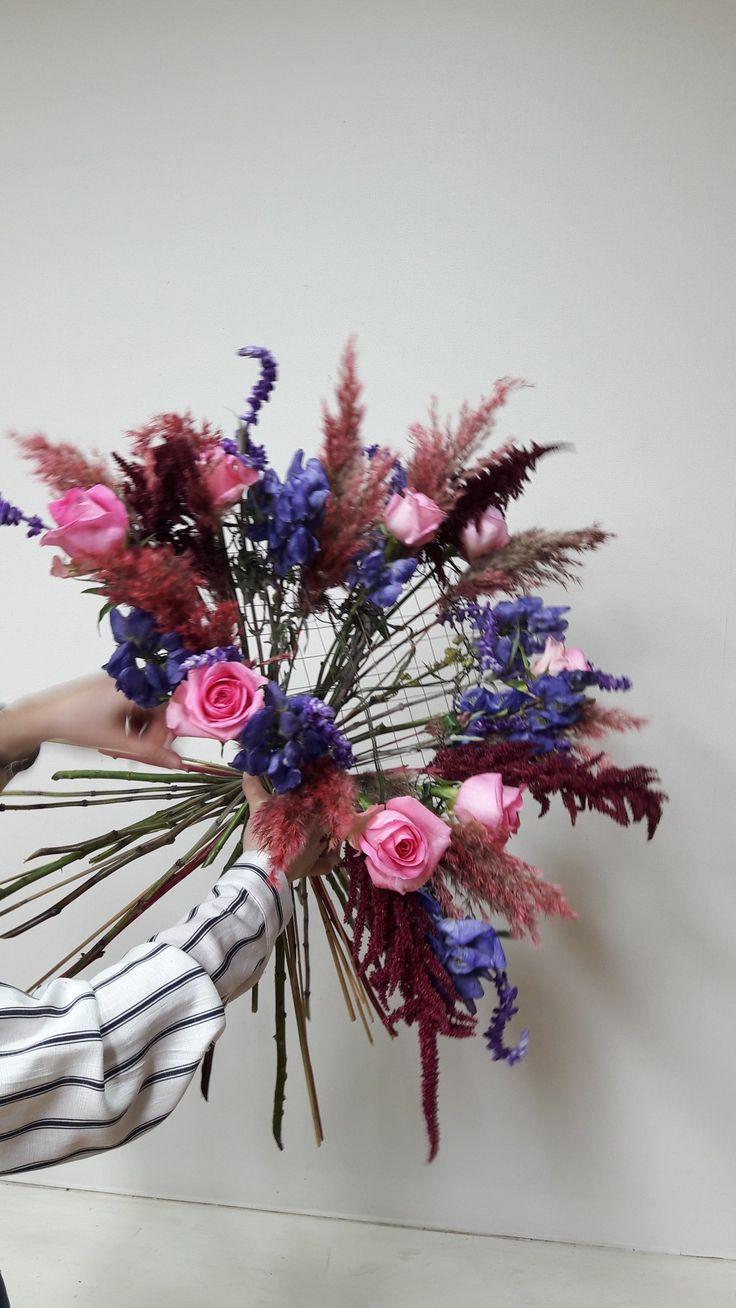 #구조물꽃다발 #코마샤클래스 #유러피안플라워 #독일플로리스트반 #komarthaclass #komarthalee #flowerlesson #koreaflolist