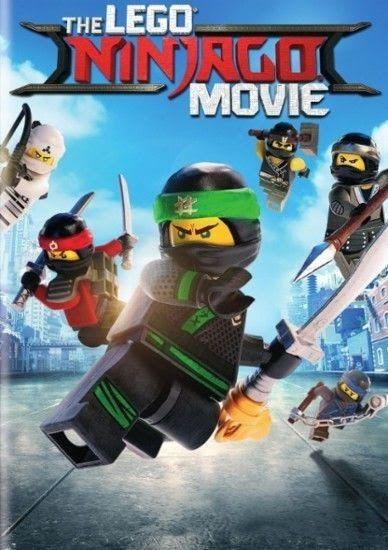 The LEGO Ninjago Movie (DVD 2017) Animation Brand New Now Shipping!!