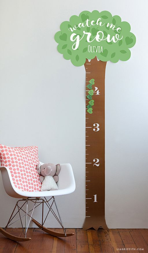 printable height chart for kids woodworkingforkids woodworking