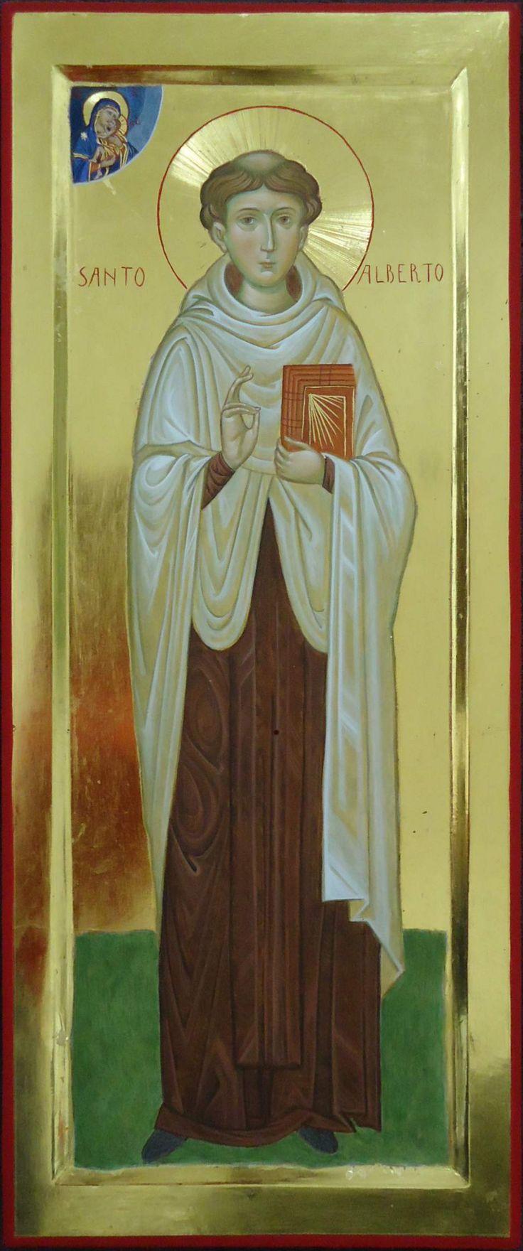 Sant'Alberto Abate da Trapani per mano di Maria Cristina Pugliesi (Italy)