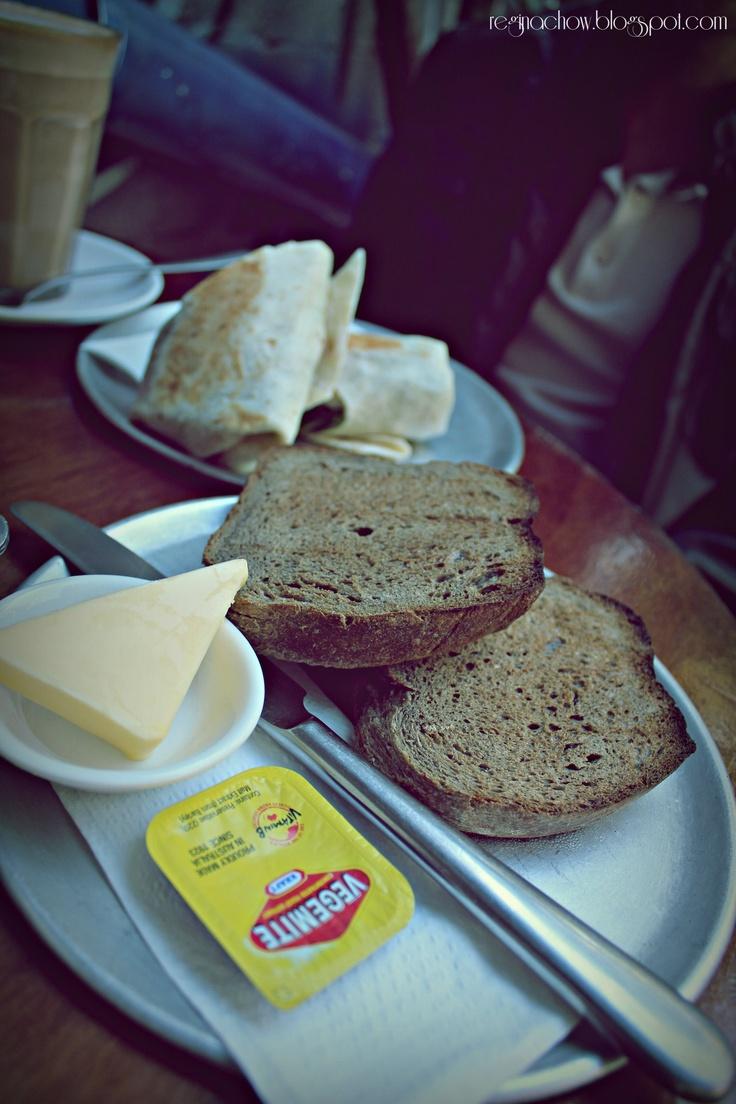 Toast with Vegemite is LOVE!