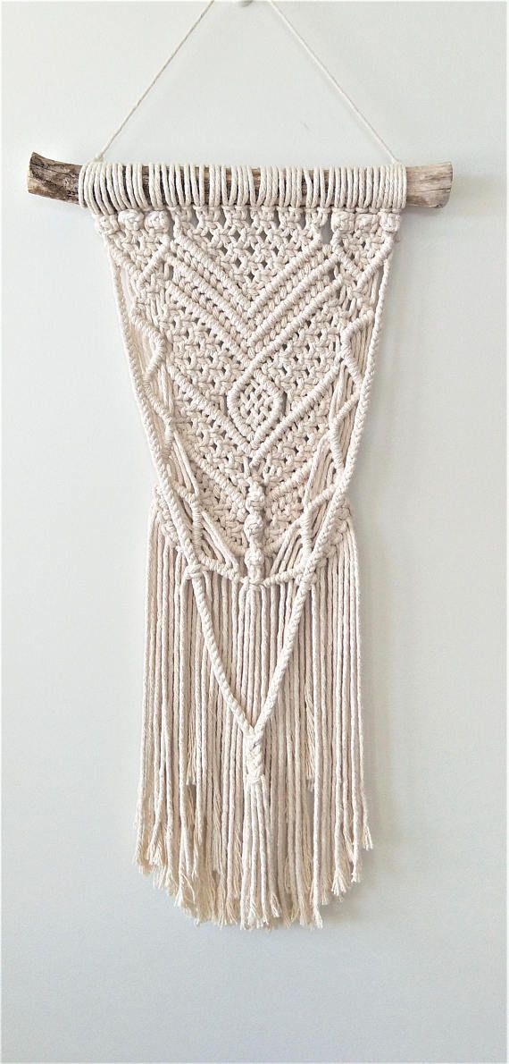 macrame wall hanging macrame art boho wall hanging macrame hanging wall hanging wall art boho art nursery decor kids room wall decor  This macrame wall hanging is the perfect piece of decor to add that boho touch to your living, dining or nursery. Also an ideal