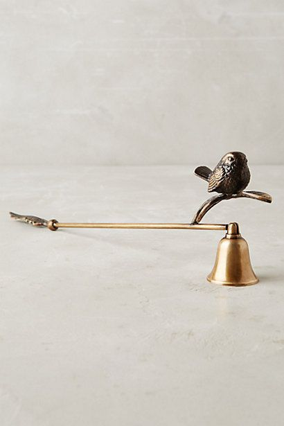 Perched Candle Snuffer #anthropologie