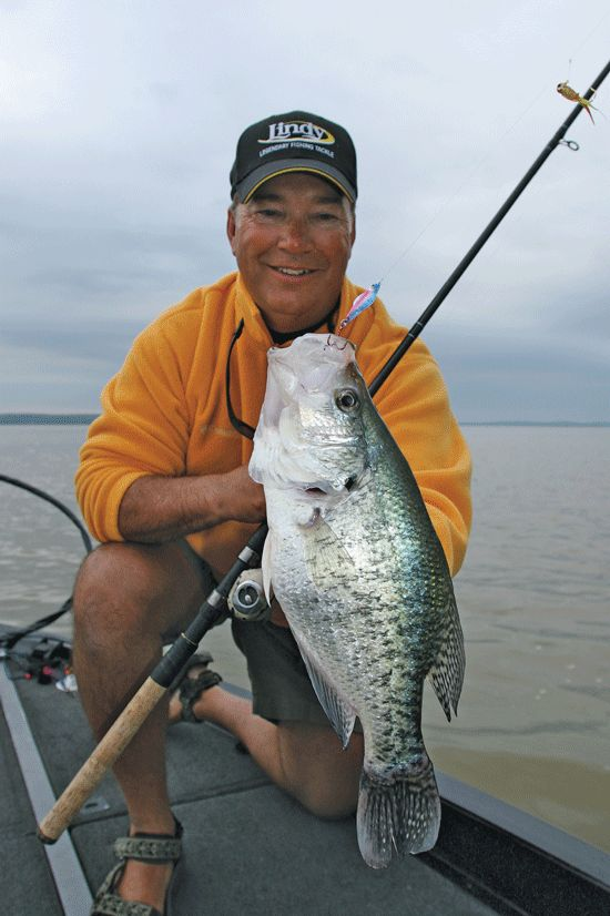 South to North spring crappie fishing tactics.