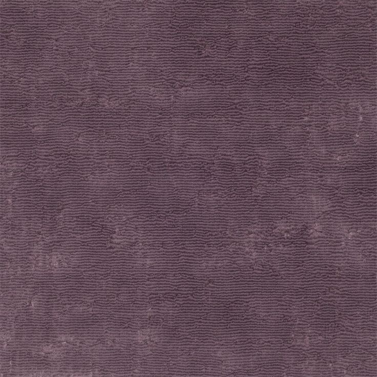 Zoffany - Luxury Fabric and Wallpaper Design | Products | British/UK Fabric and Wallpapers | Curzon (ZCUR331093) | Curzon Velvet aubergine