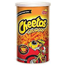 Cheetos Crunchy Snacks 425 Oz Canisters