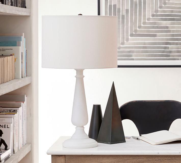 Noah Candlestick Table Lamp Base