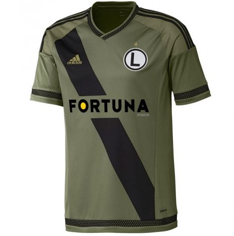 Legia Warsaw 2015/16 Away Football Shirt - Available at uksoccershop.com