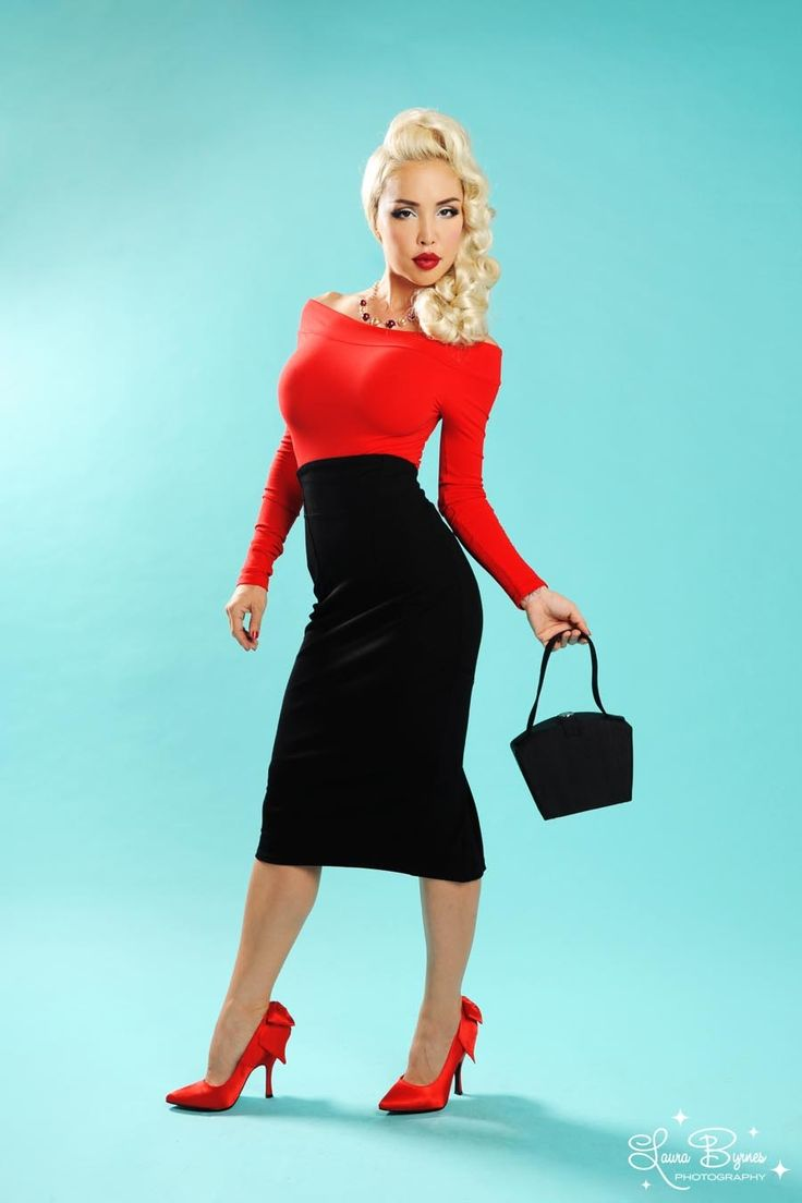 Pin-up girl style dresses