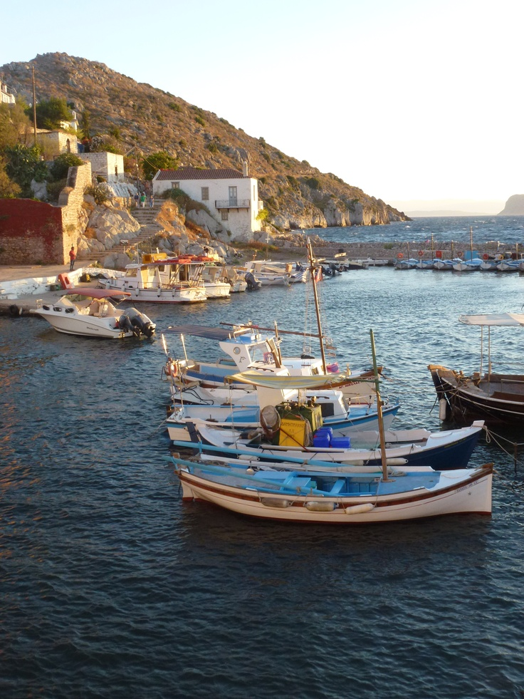 Vlychos at Hydra island