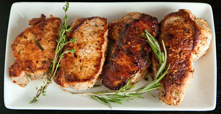 Pan seared Pork Chops   Pork   Pinterest