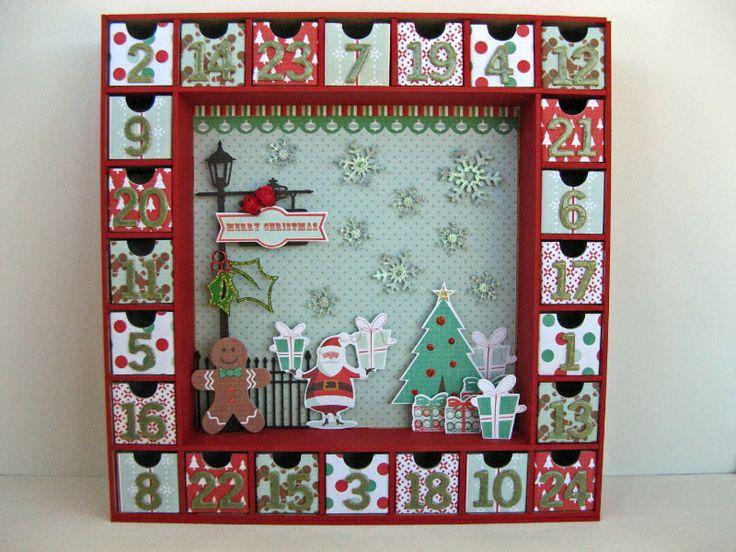 Christmas Advent Calendar - Scrapbook.com